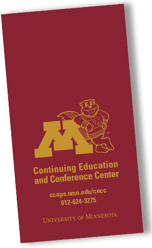 Continuing Education and Conference Center 20-year planning calendar