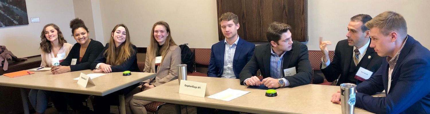 CMgt Quiz Bowl 2019 team