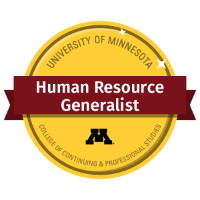 Human Resource Generalist Digital Badge