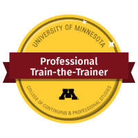 Professional Train-the-Trainer Digital Badge