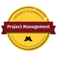 Project Management Digital Badge