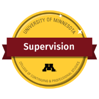 Supervision Digital Badge