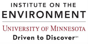 Institute on the Environment wordmark