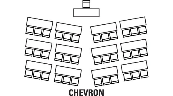 Room Configuration Chevron