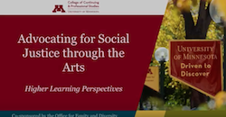 Advocating for Social Justice through the Arts screenshot