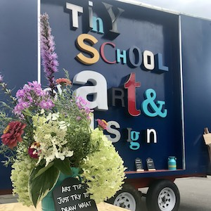 Tiny School of Art and Design truck