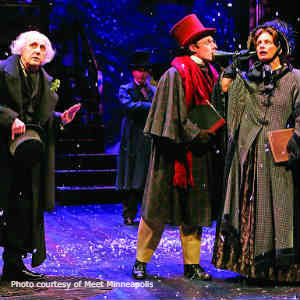 A Christmas Carol production at Guthrie Theater