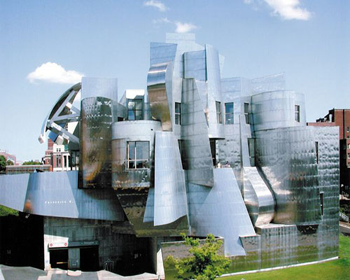 Exterior Photo Weisman Art Museum
