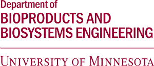 Bioproducts and Biosystems Engineering, U of M wordmark