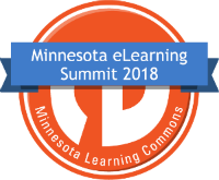 MN e-Learning Summit badge icon - orange