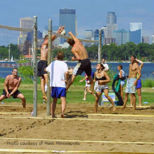 Volleyball at Lake Calhoun
